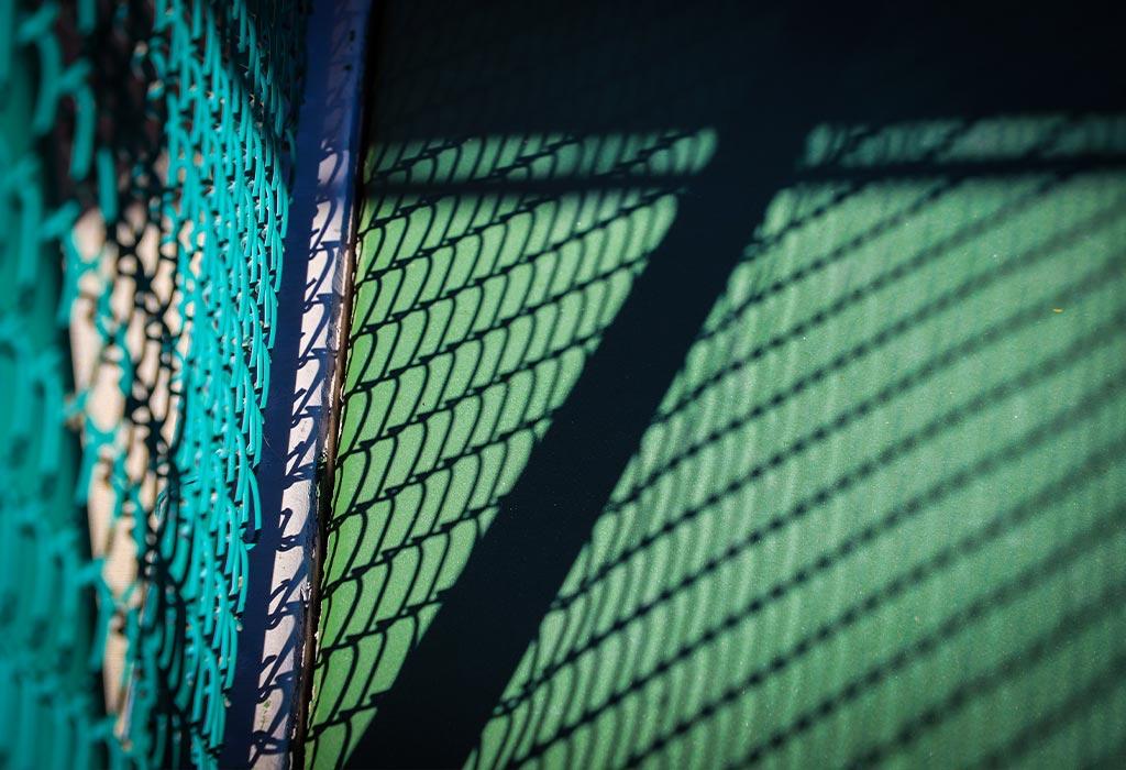 Backboard tennis