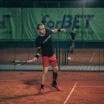 tennis drop shot