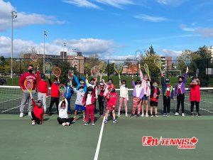 ICM Tennis Redballs Tournament October 2021 in Oshawa